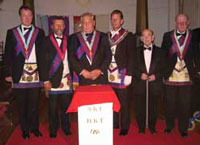 Photo taken at the 2004 Installation weekend of Harmony Royal Arch Chapter, Barberton.